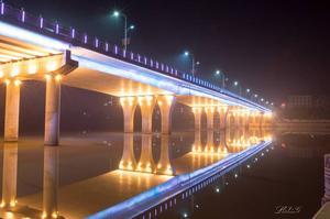 绣江大桥亮化工程