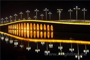 塞上江南·银川艾伊河景观照明工程