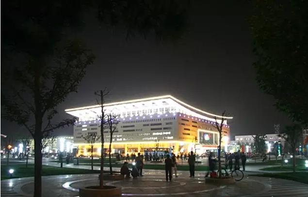 山东省博兴体育中心建筑照明设计?项目