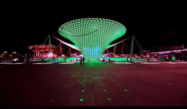 上海世博会夜景灯光设计规划